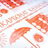3 мм прозрачный монолитный поликарбонат Rational Казанский